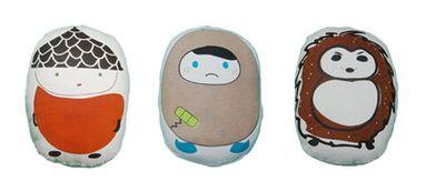 bamboo pillows, eco-chic home decor, eco-chic pillows, eco-modern home, eco-modern pillows, eco-modern toys, green home decor, Jaya Love's Tekeko, Kumo Friends, modern eco-pillows, organic bamboo pillows, organic cotton pillows, organic pillows, sustainable pillows