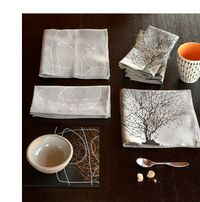 Dinah Coops, eco-chic coasters, eco-chic tablemats, eco-chic tableware, eco-chic tea towels, eco-modern coasters, eco-modern tablemats, eco-modern tableware, organic cotton tea towels, PaperStone, sustainable coasters, sustainable tablemats, sustainable tableware