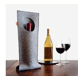 eco-chic accessories, eco-chic home accessories, eco-chic office accessories, eco-modern accessories, eco-modern home accessories, eco-modern office accessories, green felt design, modern felt design, eco-friendly wine bag, FUZ, Econscious Market, Josh Jakus