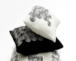 eco-chic pillows, eco-modern pillows, modern eco pillows, sustainable pillows, green pillows, Carpenter + Company, modern sustainable decor, hand embroidered pillows, fair trade pillows, fair trade home decor, indigenous embroidery, alpaca blend pillows
