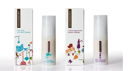 eco-chic skincare, green skincare line, New Zealand based skincare, carbon neutral skincare, sustainable skincare, carboNZero certification, Snowberry, natural skincare, paraben free skincare, artist Rob Ryan, eco-modern skincare line, biodegradable packaging