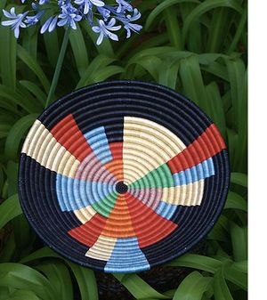eco-modern baskets, eco-chic baskets, eco-friendly baskets, eco-friendly bowls, Fair Winds Trading, Gahaya Links, hand-woven baskets, Rwanda bowls and baskets, Rwanda Path to Peace baskets, Rwanda Path to Peace collection, sustainable baskets