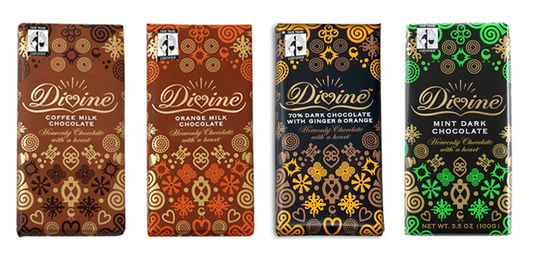 fair trade chocolate, farmer-owned chocolate, Green Festival NYC, Divine Chocolate, Kuapa Kokoo farmers' cooperative in Ghana, West African Adinkra symbols, socially conscious chocolate, eco-chic chocolate